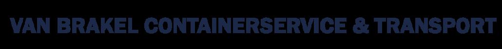 Van Brakel Containerservice en Transport